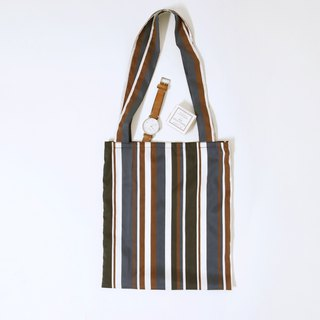 KOOW striped shopping bag