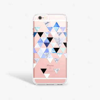 Blue iPhone Case Geometric Pattern iPhone 6S Case Cool iPhone Cases