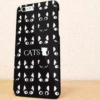 送料無料☆iPhone case GALAXY case ☆黒猫たちの phone case