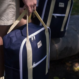 SUPER BACKPACK Navy / Beige
