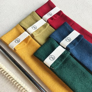 Chopsticks set straw set pencil case | Christmas period Five sets