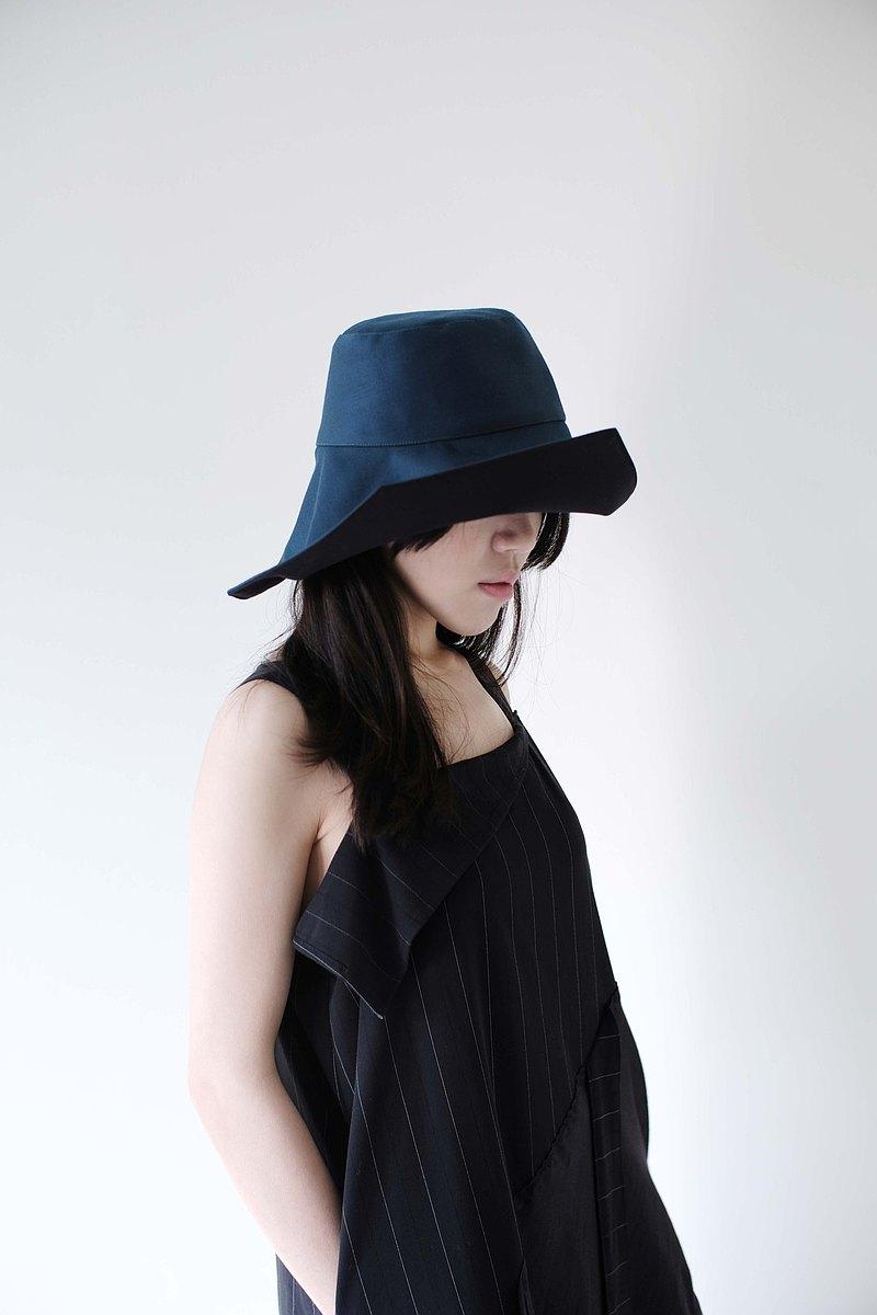 雙面遮陽變化帽-綠