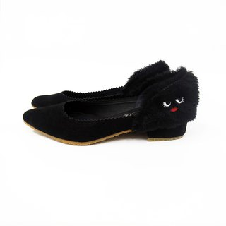 Madam Monster Pumps - Black