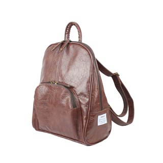 AMINAH-coffee elegant backpack [am-0299]