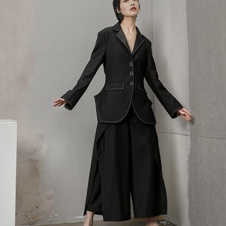 Avant Garde Jacket with Side Slits