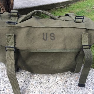 M-1945 US canvas hand-held double-use bags