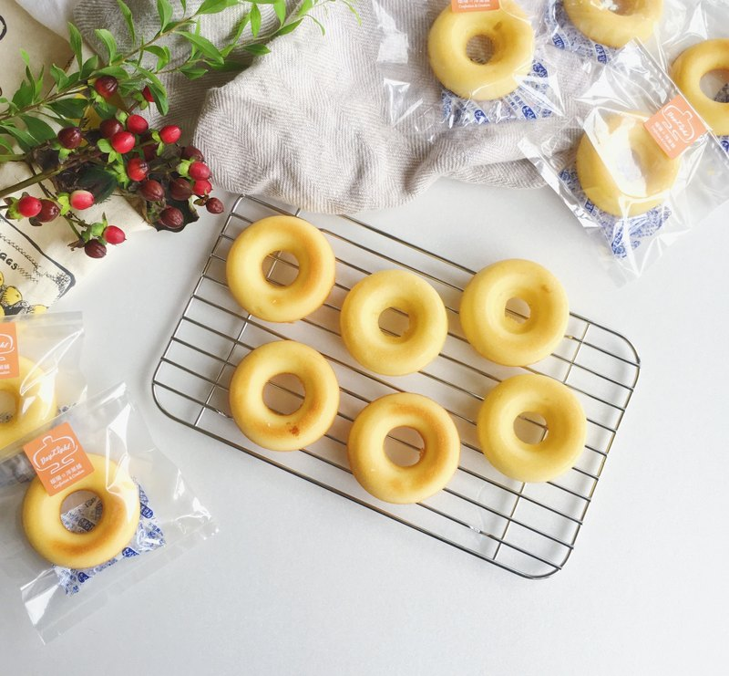 收涎新選擇 • 甜甜圈造型磅蛋糕組合