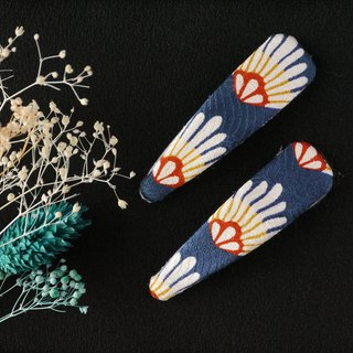 Happy hair ornament Kimono hairpin Chrysanthemum silk