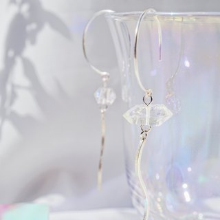 Herkimer Diamond 925 Silver Drop Earrings
