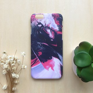 Pink Fashion oilpainting. Matte Case (iPhone, HTC, Samsung, Sony)