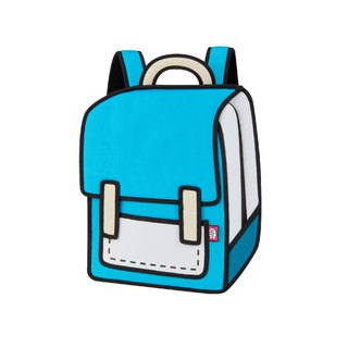 JumpFromPaper Airy Blue Spaceman Backpack