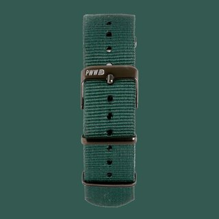 Signature NATO Strap 20mm - Forest Green