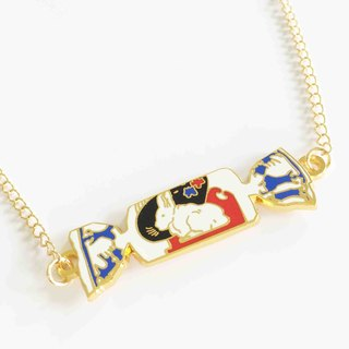 White Rabbit Sweet Candy Necklace