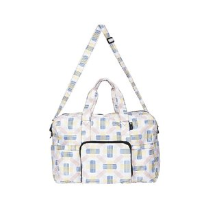 Foldable Duffel Travel Bag -- Berlin White