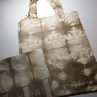 Natural Dyed big leaves / Yan organic nine-color organic cotton carry bags - still