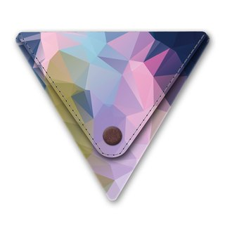 I like paper® STELLA Triangle purse / coin pocket / coin purse / Made in Germany