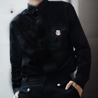 'Mr.Smith' Everyday Shirt (Black)