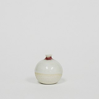 Handmade Ceramic Mini Vase - Light Rose Pink