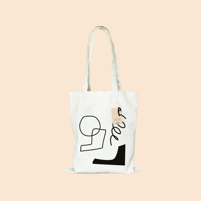 shape tote bag