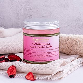 Rose White Bath Salt 300ml