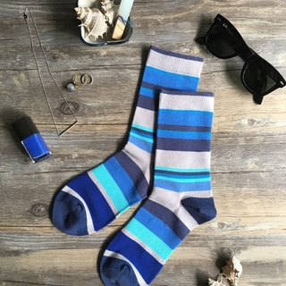 GillianSun Socks Collection [HOT Hot Money]1615RD1618BL_Blue girl