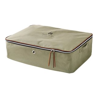 Basic Number- Oversized storage bag (khaki green)