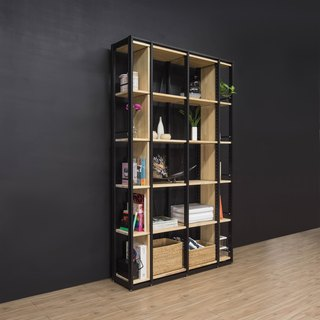Creesor - Shido 30 Industrial Air Cabinet/Bookcase/Display Cabinet