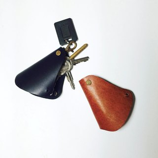 Mr. Hulu* Leather Shape Key Ring