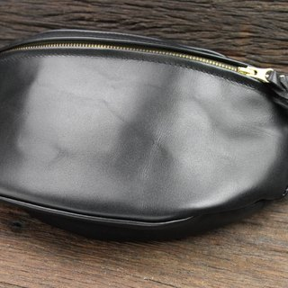 [METALIZE] Full Leather Coin Purse - Plain