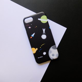 An astronaut phone case