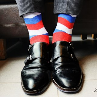 Men's Socks - matpewka, Classic Stripes - British Design