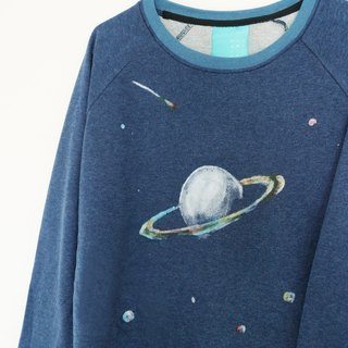 saturn crop sweater