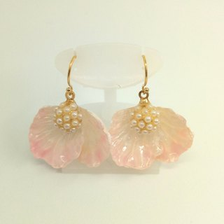 Flower earrings Free shipping Handmade With box For gift