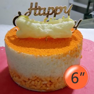 [Chicken Cheese] Dog Mousse Birthday Cake - 6吋