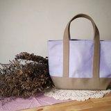 經典托特包 Msize(短帶) lavender x milktea -薰衣草x奶茶-