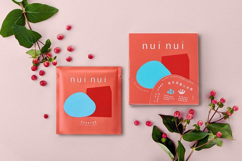美肌團購組(nui nui熊果葉嫩白面膜 6入組)