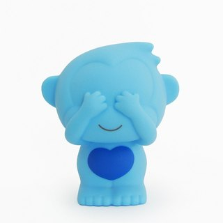 T. W.Monkeys - Coin Banks -See no evil-Blue