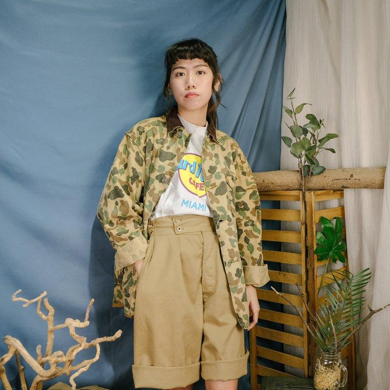 獵鴨迷彩狩獵外套A03淺色系 獵裝 迷彩 外套【Tsubasa.Y 古著屋】