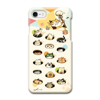 (Spot) afu illustrator phone case - iPhone7 / 7s - Meow stars knocking on a daily basis