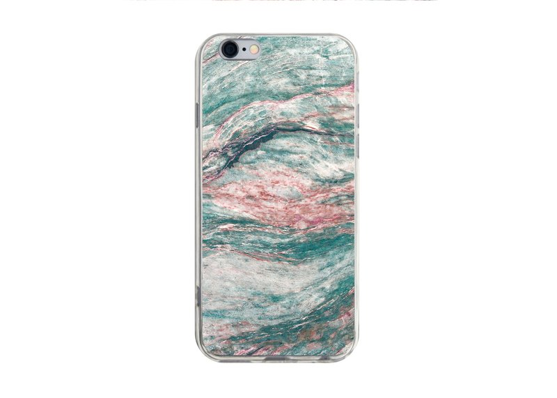 Dali Marble Pattern - iPhone X 8 7 6s Plus 5s Samsung S7 S8 S9 Phone Case