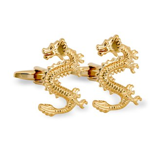 Golden Dragon Cufflinks