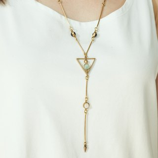 The Triangle in Y Necklace