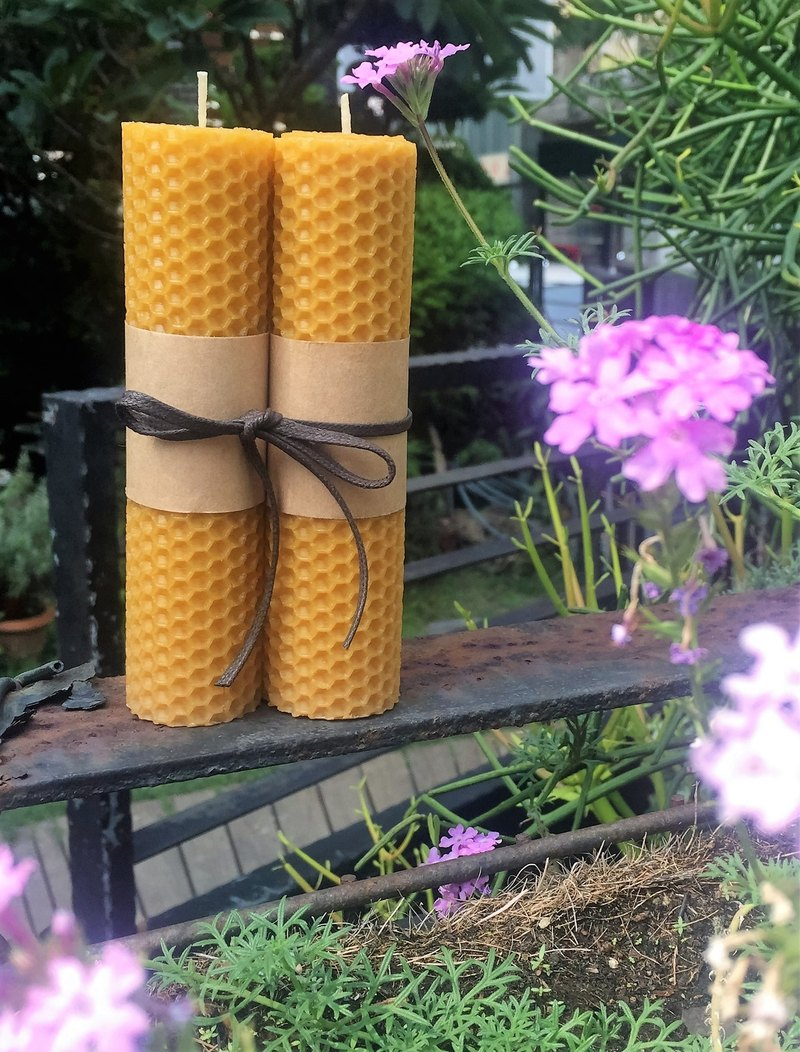 Lavender Beeswax Candle (Floral Notes) Home Fragrance Series Gift Pieces