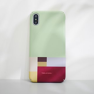 Graphic Print- LITTLE BLOCK iPhone case