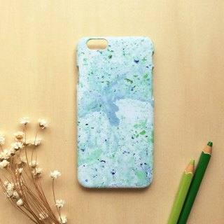 Mint shaved ice. Matte Case( iPhone, HTC, Samsung, Sony, LG, OPPO)