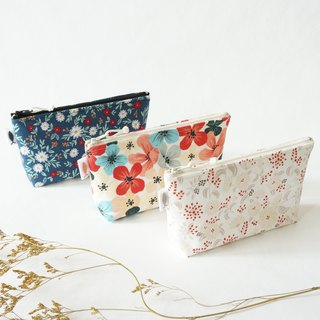/Garden Series // Carrying Makeup Bag/Small Bag/Travel Bag