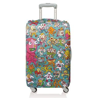 LOQI luggage jacket / cartoon LMBRFO 【M】