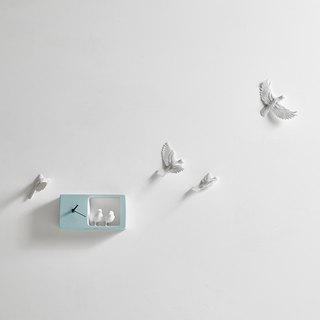 Haoshi_Sparrow clock Sparrow Clocks - Color Edition / Light Blue