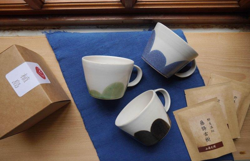 植島陶製-地景馬克杯 /岩石