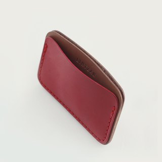 LINTZAN color ticket holder / leisure card holder -- wine red